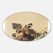 Basket of Fruit Sticker (Oval)