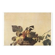 Basket of Fruit Postcards (Package of 8)