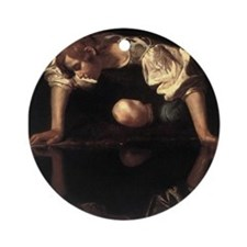 Narcissus Ornament (Round)