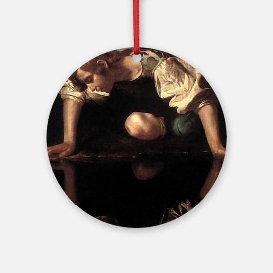 Narcissus Ornament (Round)