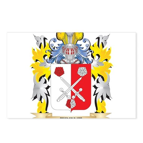 Trent Family Crest - Coat Postcards (Package of 8)