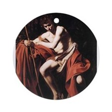 Saint John the Baptist Ornament (Round)