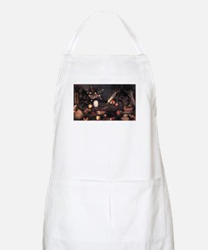 Still Life with Flowers and F Apron
