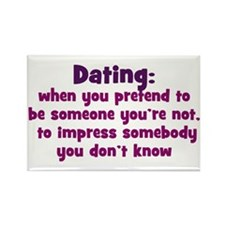 Dating Definition Rectangle Magnet