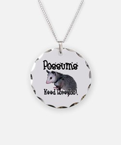 Possums Need Love Necklace