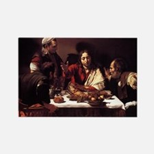 Supper at Emmaus Rectangle Magnet