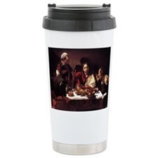 Supper at Emmaus Travel Mug