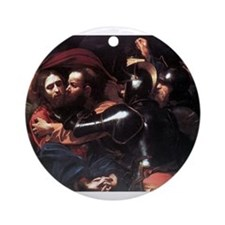 Taking of Christ Ornament (Round)
