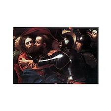 Taking of Christ Rectangle Magnet (10 pack)