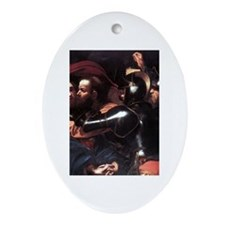 Taking of Christ Ornament (Oval)