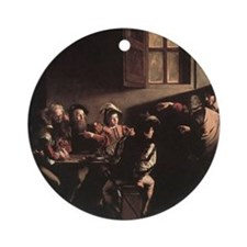 The Calling of Saint Matthew Ornament (Round)