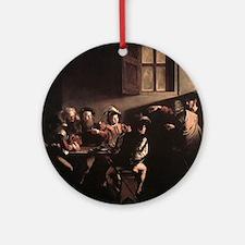 The Calling of Saint Matthew Ornament (Round)
