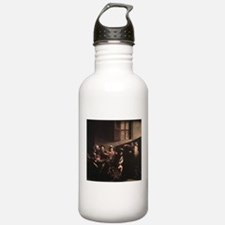 The Calling of Saint Matthew Sports Water Bottle