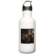 The Calling of Saint Matthew Water Bottle