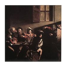 The Calling of Saint Matthew Tile Coaster