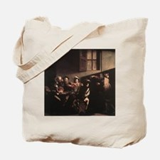 The Calling of Saint Matthew Tote Bag