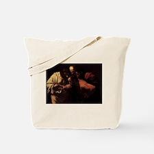 The Incredulity of Saint Thom Tote Bag