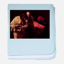 The Incredulity of Saint Thom baby blanket