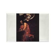The Inspiration of Saint Matt Rectangle Magnet