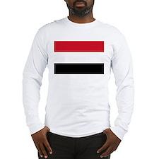 Yemen Flag Long Sleeve T-Shirt