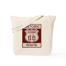 San Bernardino Route 66 Tote Bag