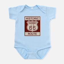 San Bernardino Route 66 Infant Bodysuit