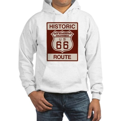 San Bernardino Route 66 Hooded Sweatshirt