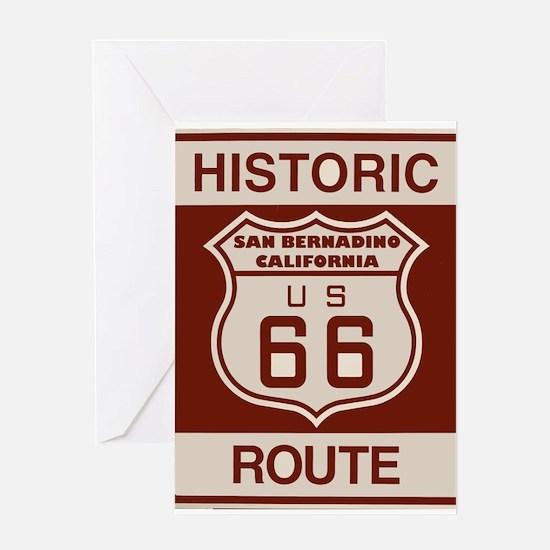 San Bernardino Route 66 Greeting Card