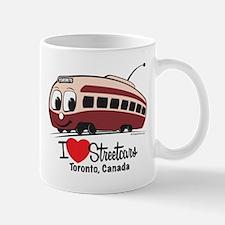 I Love Streetcars Toronto Mug
