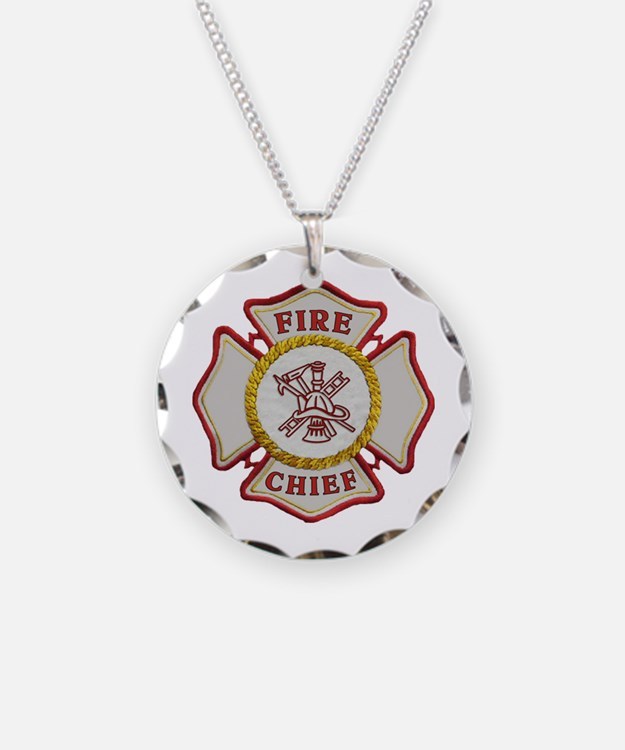 Fire Department Maltese Cross Necklace: Fire Chief Designs On Jewelry