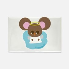 """""""Mouse Angel"""" Rectangle Magnet"""