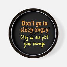 Plot Your Revenge Wall Clock