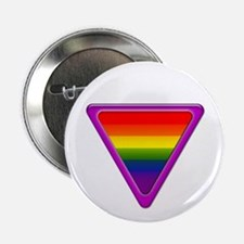 Gay Pride Tribal Button