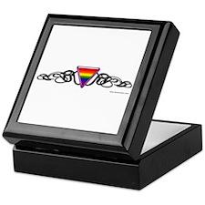 Gay Pride Tribal Keepsake Box
