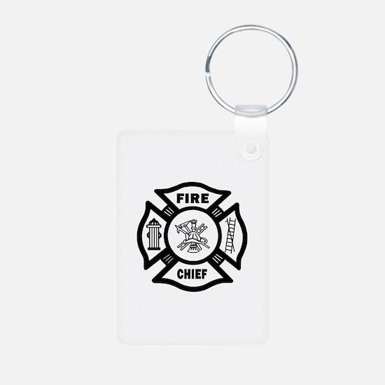 Fire Chief Keychains