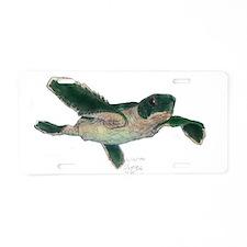 Baby Sea Turtle Aluminum License Plate