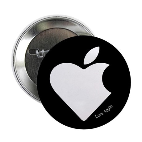 "Love Apple B 2.25"" Button (10 pack)"