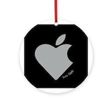 Love Apple Ornament (Round)