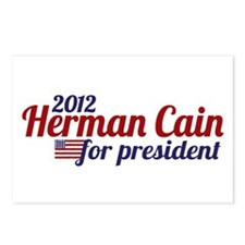 Herman Cain 2012 Postcards (Package of 8)