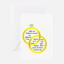 After my bestfriend married m Greeting Cards (Pack