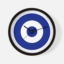 Hellenic Roundel Wall Clock