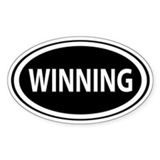 Winning Lucky Decal