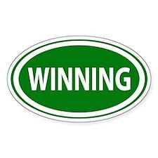 Winning Lucky Decal