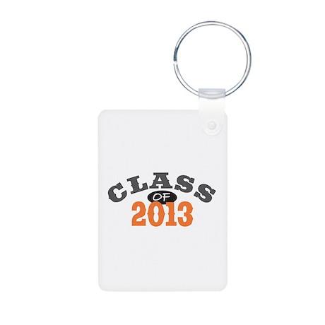 Class Of 2013 Orange Aluminum Photo Keychain