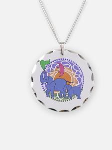 Elephant Umbrella Necklace