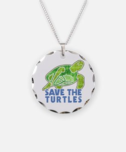 Save the Turtles Necklace