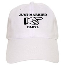 Just Married Daryl Baseball Cap