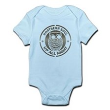Northern Soul up all night ow Infant Bodysuit