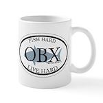 Fish Hard...Live Hard OBX Mug