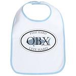 Fish Hard...Live Hard OBX Bib